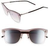 Marc Jacobs Women's 49Mm Retro Sunglasses - Dark Ruthenium