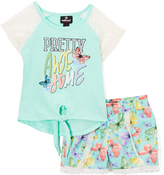 Dollhouse Mint 'Awesome' Hi-Low Top Set - Infant, Toddler & Girls