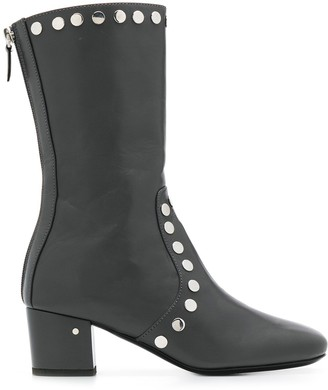 Laurence Dacade studded mid-calf boots