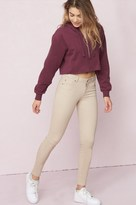 Garage Beige Sand High Waist Jegging