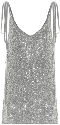 Alanui Dancing UFO wool-blend minidress