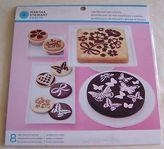 Martha Stewart Vintage Girl Cake And Cupcake Stencils