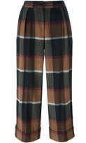 I'M Isola Marras checked trousers - women - Wool/Polyamide/other fibers/Cotton - 42