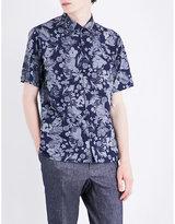 The Kooples Floral-print Cotton Shirt