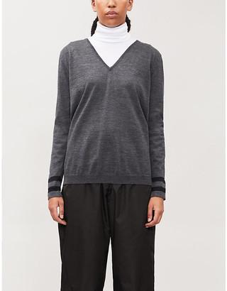 Fusalp Taysse V-neck knitted jumper