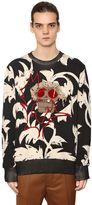 Vivienne Westwood Printed & Embroidered Cotton Sweatshirt