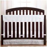 BreathableBaby Crib RailGuard Plus Crib Liner - White