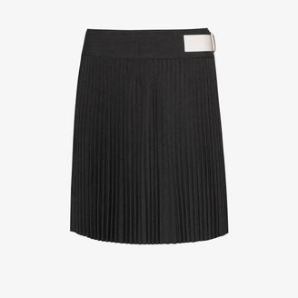 Helmut Lang High Waist Kilt Mini Skirt