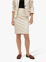 Thumbnail for your product : MANGO Cotton Blend Pencil Skirt