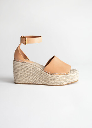 And other stories Espadrille Sandal Wedges