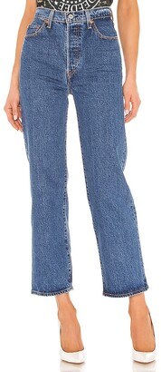 Levi's Ribcage Straight Ankle. - size 23 (also