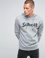 Schott Large Logo Hoodie
