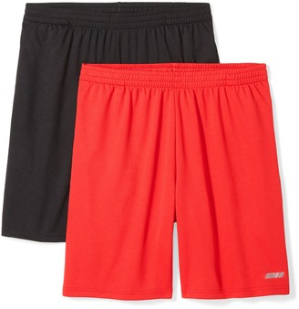 Amazon Essentials Mens 2-Pack Loose-Fit Performance Shorts