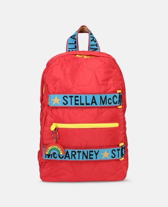 Stella McCartney quilted stars backpack