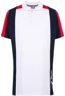 Fila Colour Block Polo Shirt