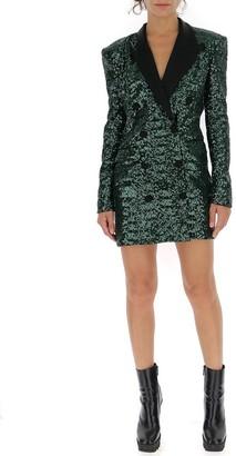 Amen Sequined Blazer Dress