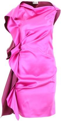 Lanvin Ruffle Detail Mini Dress