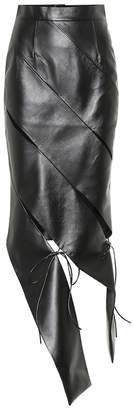 Matériel Tbilisi Faux leather pencil skirt