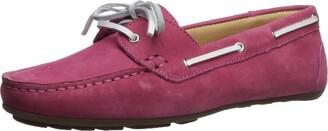 Driver Club Usa Women's Womens Genuine Leather Made in Brazil Daytona Beach Boat Shoe Shoe