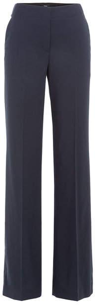 Theory Wide Leg Virgin Wool Pants