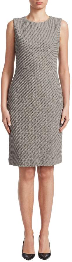 Armani Collezioni Women's Cotton Sheath Dress