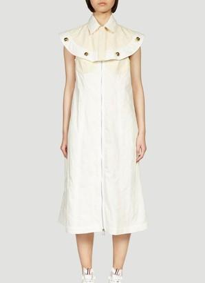 MONCLER GENIUS Moncler 1952 Zipped Cape Detail Dress