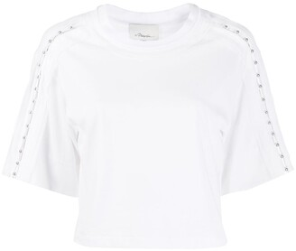 3.1 Phillip Lim studded shoulder T-shirt