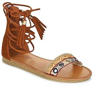 Elue par nous COLOMIERS women's Sandals in Brown