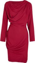 Vivienne Westwood Draped crepe dress