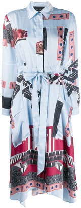 Cédric Charlier Printed Shirt Dress