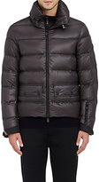 Moncler Men's Down-Quilted Zip-Front Coat-DARK GREEN