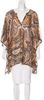Missoni Metallic Oversize Swim Cover-Up