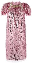 Dolce & Gabbana sequined dress - women - Cotton/Polyamide/Polyester/Spandex/Elastane - 42