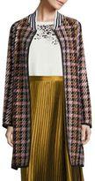 Public School Makhi Wool Plaid Coat