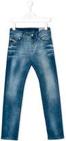 Diesel Belther jeans - kids - Cotton/Polyester/Spandex/Elastane - 8 yrs