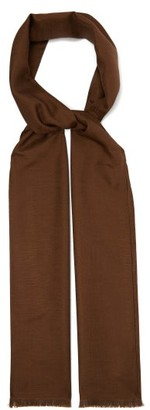A.P.C. X Suzanne Koller Silk Scarf - Camel