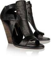 Camilla Skovgaard Textured-leather sandals