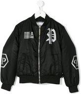 Philipp Plein Junior Dark Klein jacket