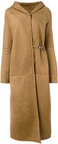 Liska - Theodorina coat - women - Lamb Fur/Lamb Nubuck Leather - S