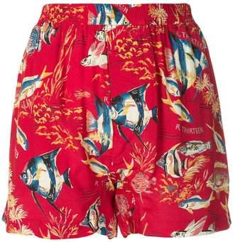 R 13 Hawaiian shorts
