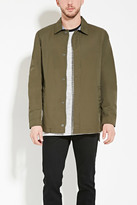 Forever 21 FOREVER 21+ Cotton-Blend Jacket