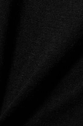 FRANCES DE LOURDES Bette Cashmere And Silk-blend Camisole - Black