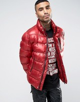 Love Moschino Love Moschinmo Padded Jacket with Side Tab