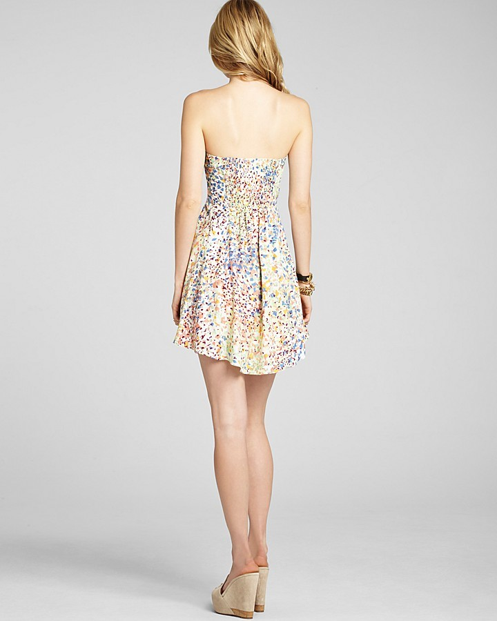 BCBGeneration Dress - Strapless Printed