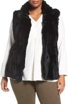 Blue Duck Trading Genuine Rabbit Fur Vest (Plus Size)