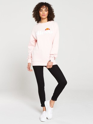 Ellesse Agata Crew Sweatshirt - Pink