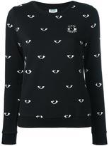 Kenzo Eyes sweatshirt - women - Cotton - L