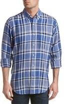 J.Mclaughlin Carnegie Linen Regular Fit Woven Shirt.