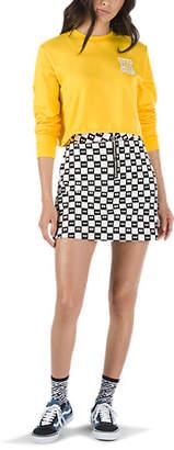 Vans x Lazy Oaf Eyeball Check Skirt