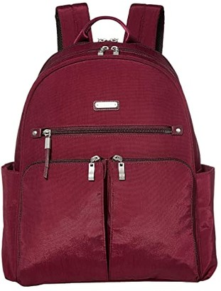 Baggallini New Classic Here and There Laptop Backpack (Black) Backpack Bags